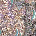 Sea Mantle Coquina, detail
